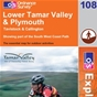 OS Explorer Map 108 Lower Tamar Valley & Plymouth
