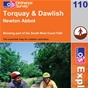 OS Explorer Map 110 Torquay & Dawlish