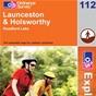 OS Explorer Map 112 Launceston & Holsworthy