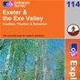 OS Explorer Map 114 Exeter & the Exe Valley