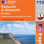 OS Explorer Map 115 Exmouth & Sidmouth