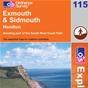 OS Explorer Map 115 Exmouth & Sidmouth