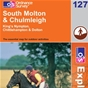 OS Explorer Map 127 South Molton & Chulmleigh