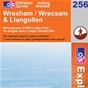 OS Explorer Map 256 Wrexham & Llangollen