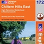OS Explorer Map 172 Chiltern Hills East