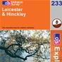 OS Explorer Map 233 Leicester & Hinckley