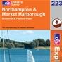 OS Explorer Map 223 Northampton & Market Harborough