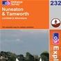 OS Explorer Map 232 Nuneaton & Tamworth