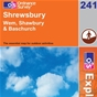 OS Explorer Map 241 Shrewsbury