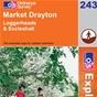 OS Explorer Map 243 Market Drayton