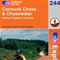 OS Explorer Map 244 Cannock Chase & Chasewater