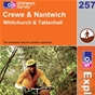 OS Explorer Map 257 Crewe & Nantwich