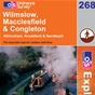 OS Explorer Map 268 Wilmslow, Macclesfield & Congleton