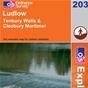 OS Explorer Map 203 Ludlow