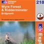 OS Explorer Map 218 Kidderminster & Wyre Forest