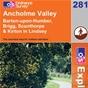 OS Explorer Map 281 Ancholme Valley