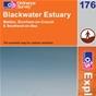 OS Explorer Map 176 Blackwater Estuary