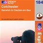 OS Explorer Map 184 Colchester
