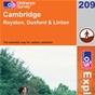 OS Explorer Map 209 Cambridge