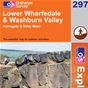 OS Explorer Map 297 Lower Wharfedale & Washburn Valley