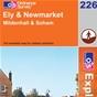 OS Explorer Map 226 Ely & Newmarket