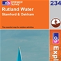 OS Explorer Map 234 Rutland Water
