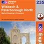OS Explorer Map 235 Wisbech & Peterborough North