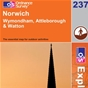 OS Explorer Map 237 Norwich