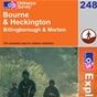 OS Explorer Map 248 Bourne & Heckington