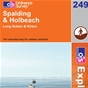 OS Explorer Map 249 Spalding & Holbeach