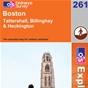 OS Explorer Map 261 Boston