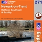 OS Explorer Map 271 Newark-on-Trent