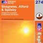 OS Explorer Map 274 Skegness, Alford & Spilsby