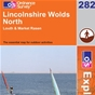 OS Explorer Map 282 Lincolnshire Wolds North