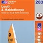 OS Explorer Map 283 Louth & Mablethorpe