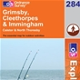 OS Explorer Map 284 Grimsby, Cleethorpes & Immingham