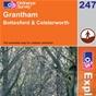 OS Explorer Map 247 Grantham