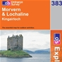 OS Explorer Map 383 Morvern & Lochaline