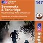 OS Explorer Map 147 Sevenoaks & Tonbridge
