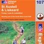 OS Explorer Map 107 St Austell & Liskeard
