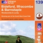 OS Explorer Map 139 Bideford, Ilfracombe & Barnstaple