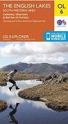 OS Explorer Map OL 6 The Lake District: SW area