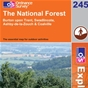 OS Explorer Map 245 The National Forest