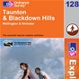 OS Explorer Map 128 Taunton & Blackdown Hills