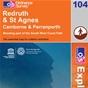 OS Explorer Map 104 Redruth & St Agnes