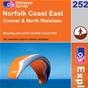 OS Explorer Map 252 Norfolk Coast East