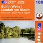 OS Explorer Map 188 Builth Wells