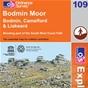 OS Explorer Map 109 Bodmin Moor
