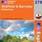 OS Explorer Map 278 Sheffield & Barnsley