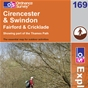 OS Explorer Map 169 Cirencester & Swindon